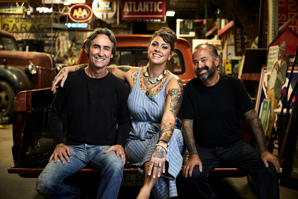 American Pickers Promo Image Mike Frank Danielle